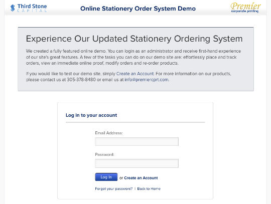 We Updated Our Stationery Ordering System